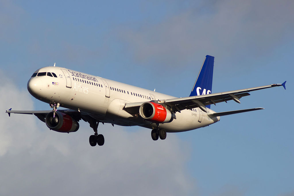 LN RKK Airbus A321 232 Svipdag Viking of SAS Scandinavian Airlines at Copenhagen Airport