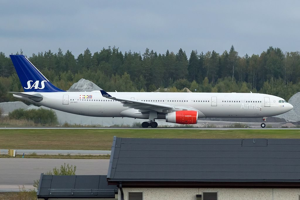 LN RKS Airbus A330 343 Frithiof Viking SAS Scandinavian Airlines at Stockholm Arlanda Airport