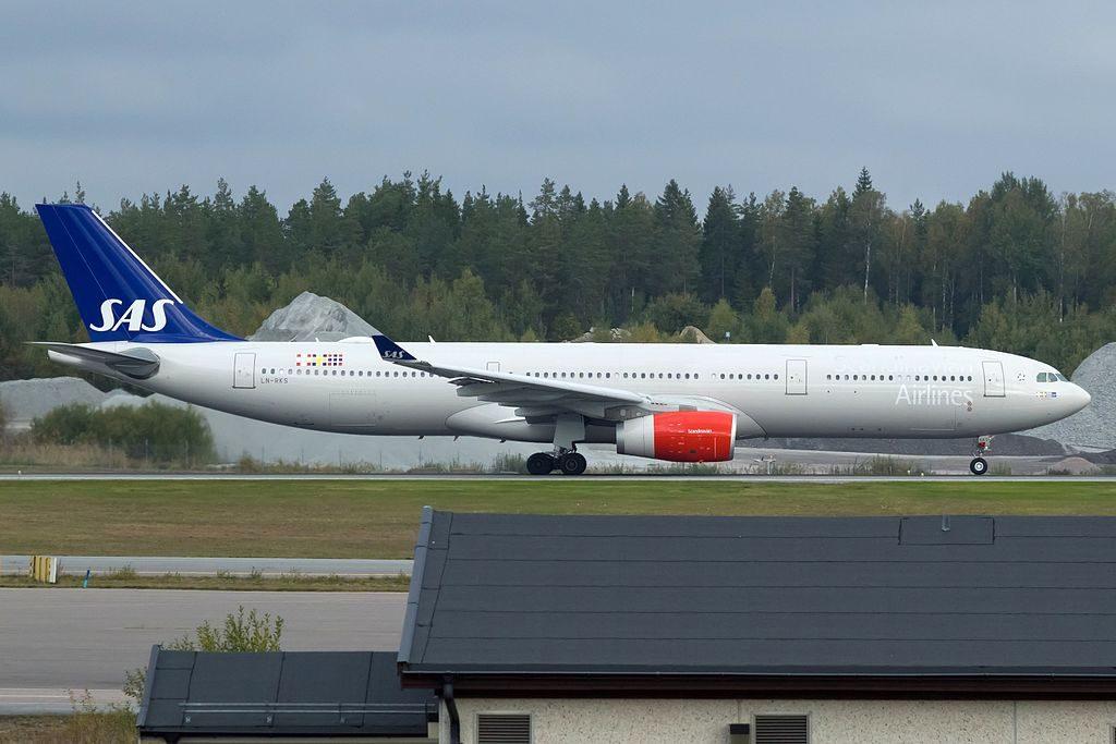 LN RKS Airbus A330 343 Frithiof Viking SAS Scandinavian Airlines at Stockholm Arlanda Airport