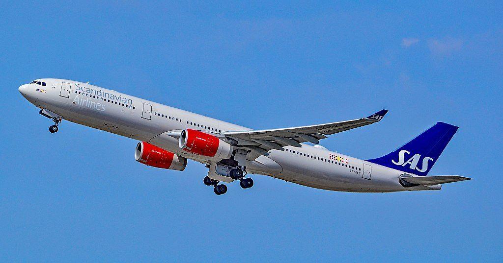 LN RKT SAS Scandinavian Airlines Airbus A330 343 Bele Viking at Los Angeles International Airport