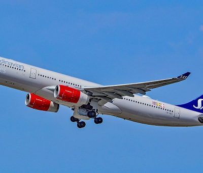LN RKT SAS Scandinavian Airlines Airbus A330 343 Bele Viking at Los Angeles International Airport