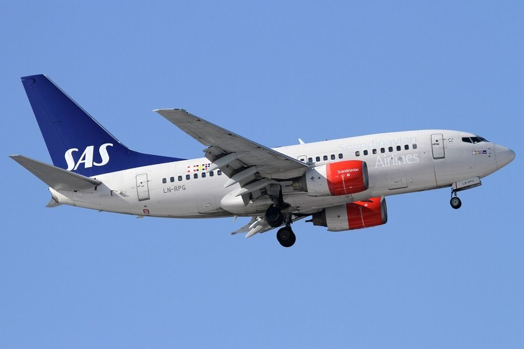 LN RPG Boeing 737 683 Scandinavian Airlines SAS Geirmund Viking at Sheremetyevo International Airport