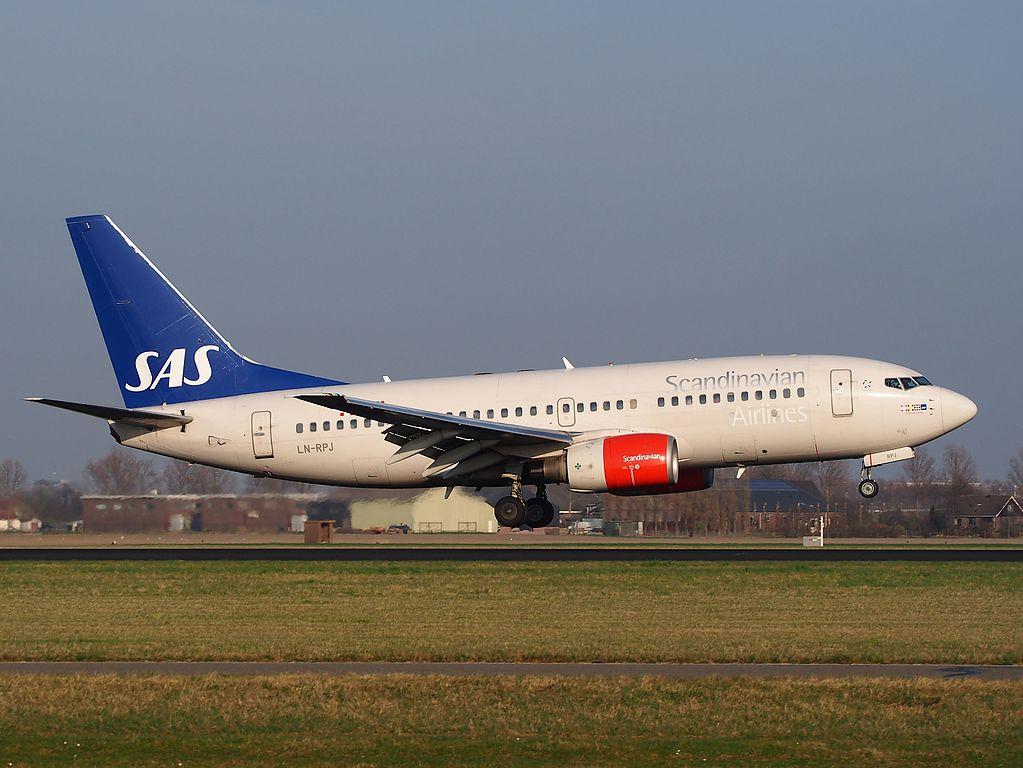 LN RPJ SAS Scandinavian Airlines Boeing 737 783 Grimhild Viking at Schiphol