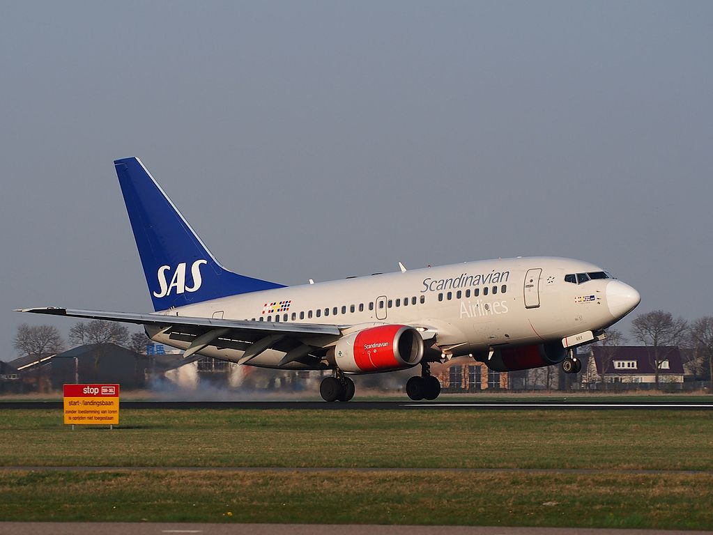 LN RRY SAS Scandinavian Airlines Boeing 737 683 Signe Viking at Schiphol