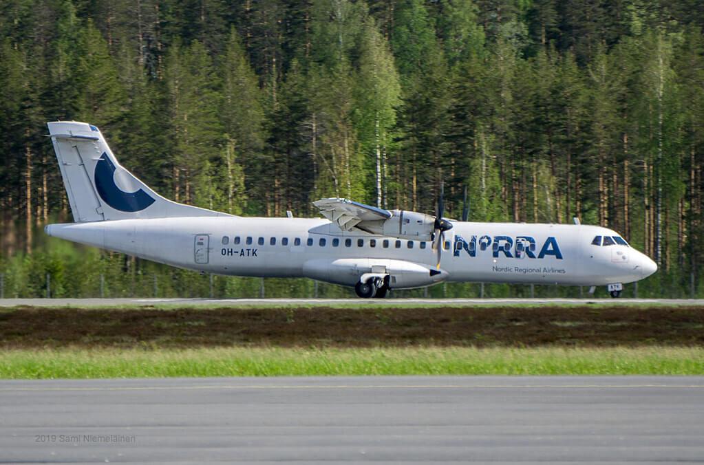 OH ATK ATR 72 500 NORRA Nordic Regional Airlines Finnair