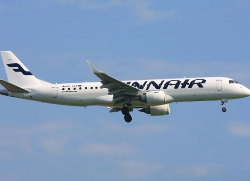 OH LKE Embraer 190 Finnair at Munich Airport