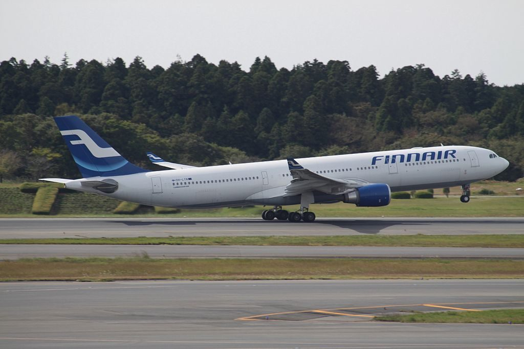 OH LTN Airbus A330 302 Finnair at Narita International Airport