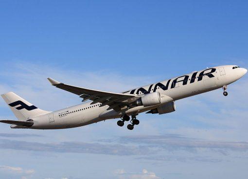 OH LTR Airbus A330 302 Finnair at Helsinki Vantaa Airport