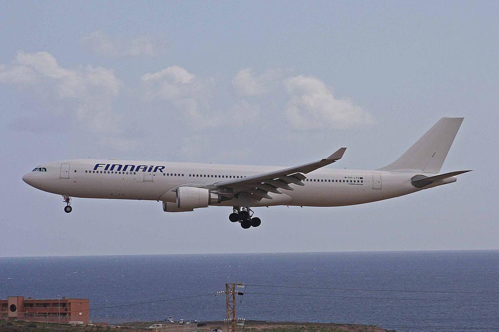 OH LTU Airbus A330 302E Finnair at Gran Canaria Airport