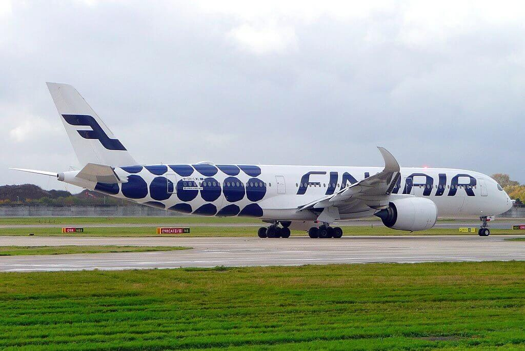 OH LWL Airbus A350 941 Finnair at London Heathrow Airport