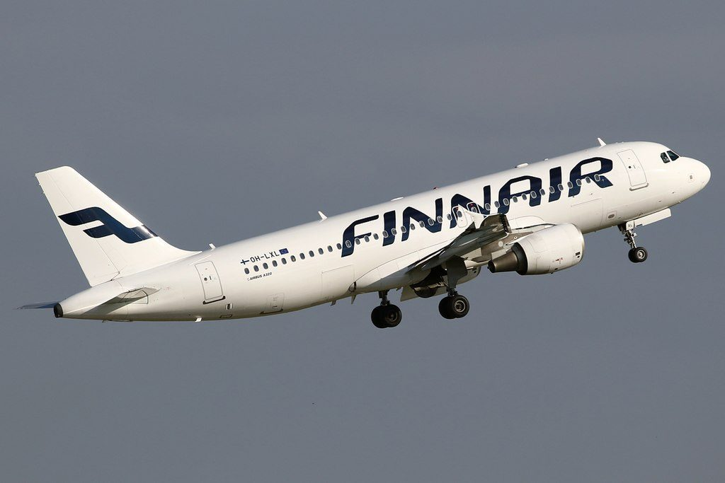 OH LXL Airbus A320 214 of Finnair at London Heathrow Airport