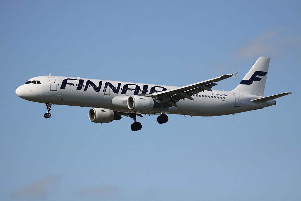 OH LZB Airbus A321 211 Finnair at London Heathrow Airport
