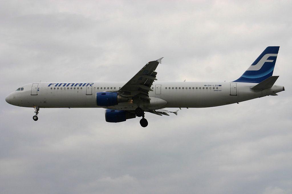 OH LZD Airbus A321 211 Finnair at London Heathrow Airport