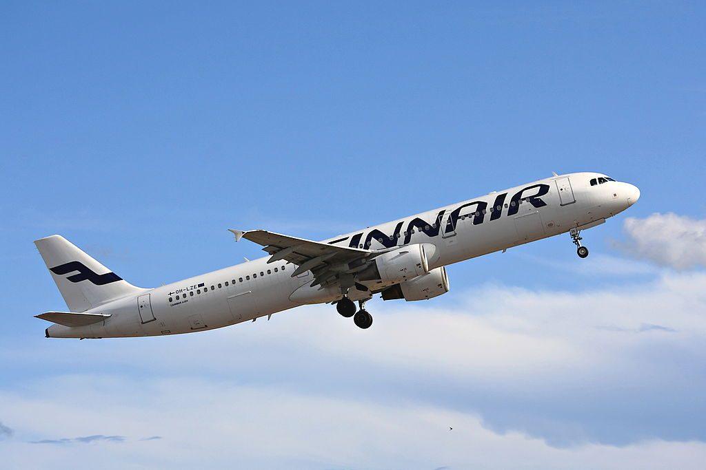 OH LZE Airbus A321 211 Finnair at Helsinki Vantaa Airport