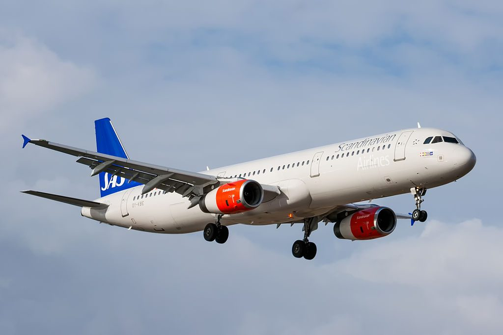 OY KBE Airbus A321 232 Emma Viking of SAS Scandinavian Airlines at Lanzarote Airport