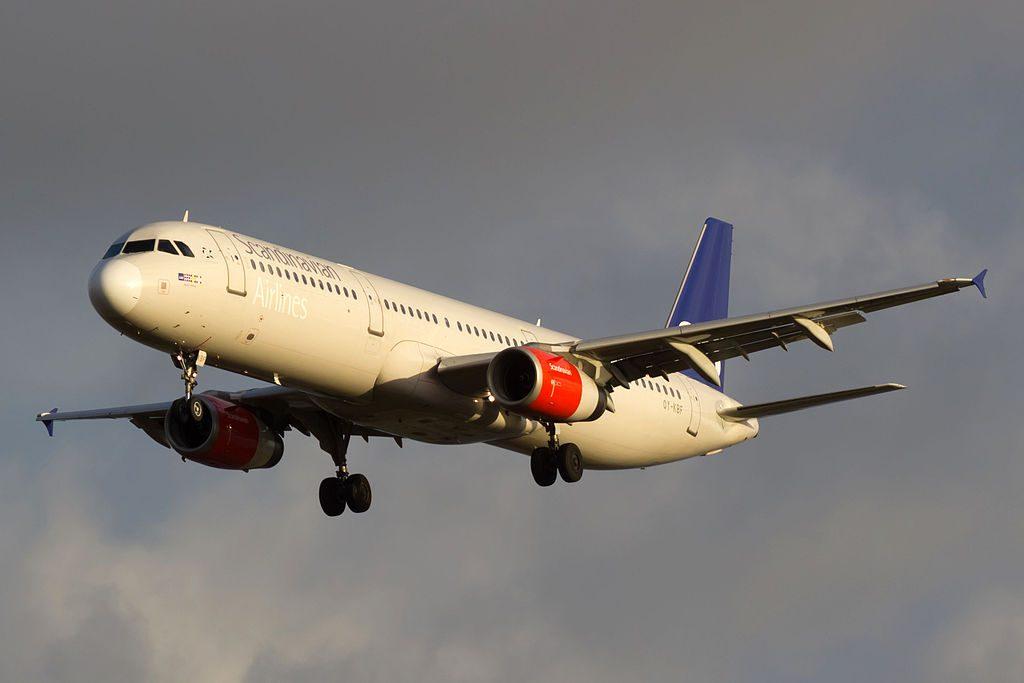 OY KBF Airbus A321 232 SAS Scandinavian Airlines Skapti Viking at Copenhagen Airport