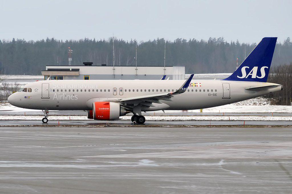 SAS Ireland EI SIE Airbus A320 251N Gorm Viking at Stockholm Arlanda Airport