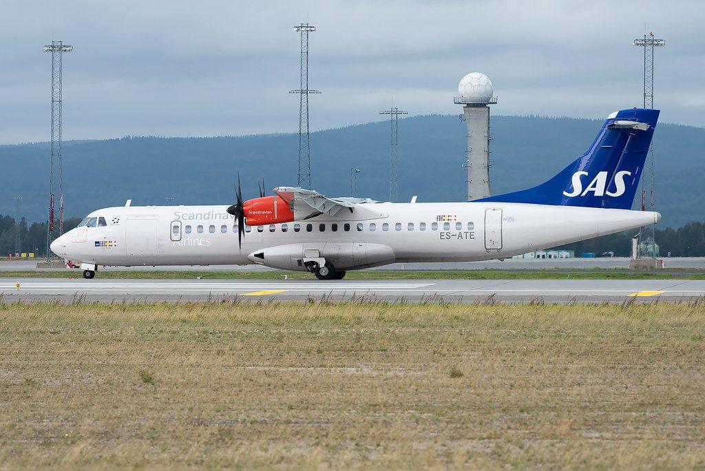 SAS Scandinavian Airlines ATR 72 600 72 212A ES ATE Nordica Torver Viking