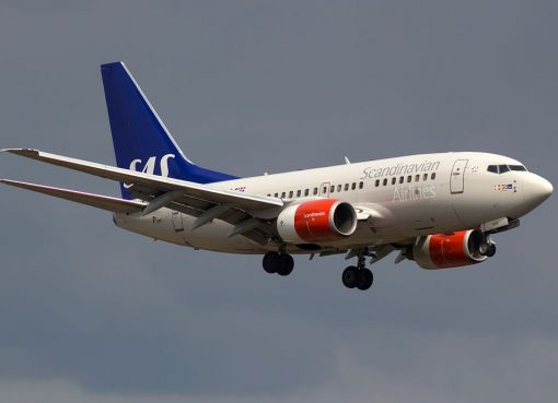 SAS Scandinavian Airlines LN RGK Boeing 737 683 Vile Viking at Stockholm Arlanda Airport