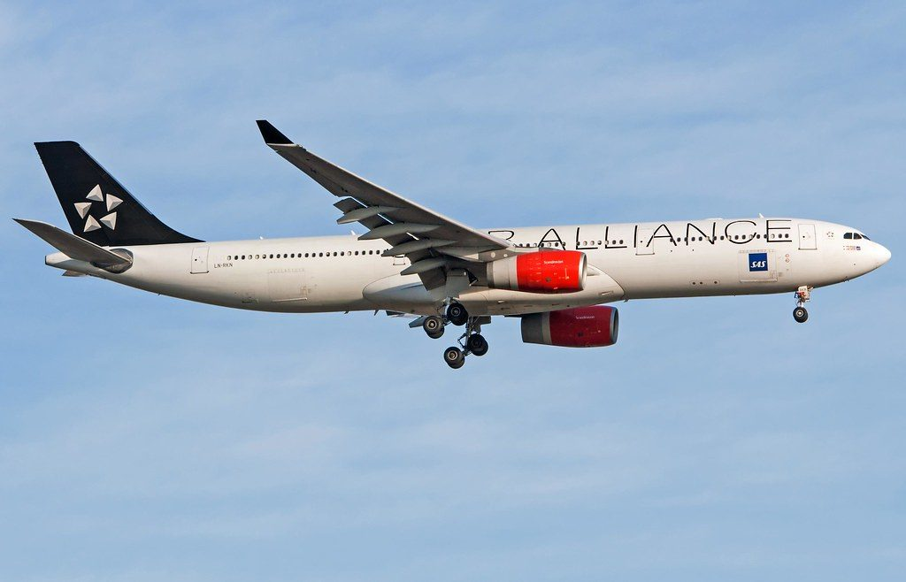 SAS Fleet Airbus A330-300 Details and Pictures