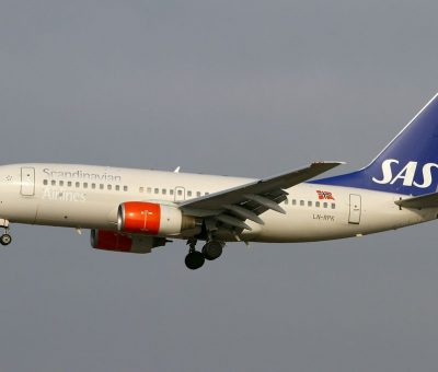 Scandinavian Airlines SAS Boeing 737 783 LN RPK Heimer Viking at Frankfurt Airport