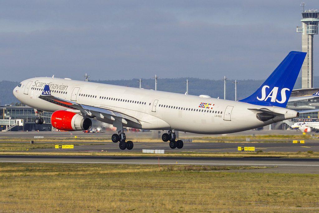 Scandinavian Airlines SAS LN RKO Airbus A330 343 Sigrid Viking at Oslo