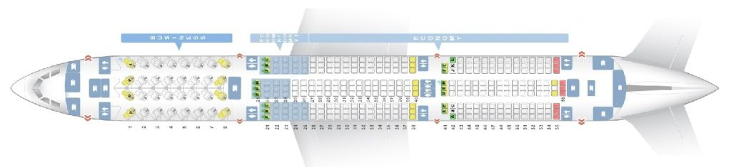 Seat Map and Seating Chart Airbus A350 900XWB Version 2 Finnair