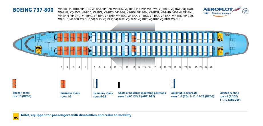 Aeroflot Fleet Boeing 737 800 Details And Pictures
