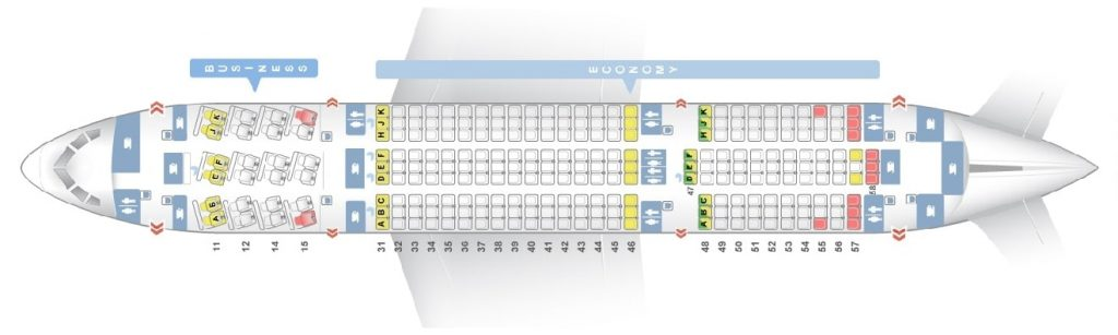 Seat Map and Seating Chart Boeing 787 8 Dreamliner THAI Airways