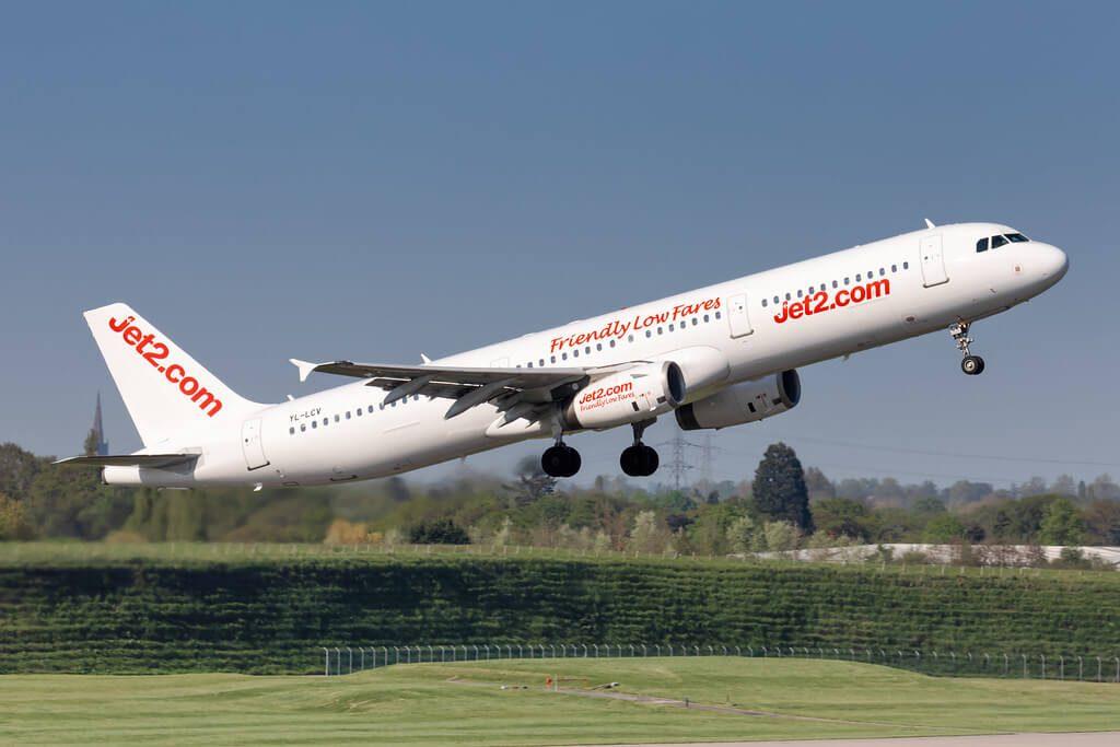 YL LCV Jet2 Airbus A321 211 at Birmingham Airport