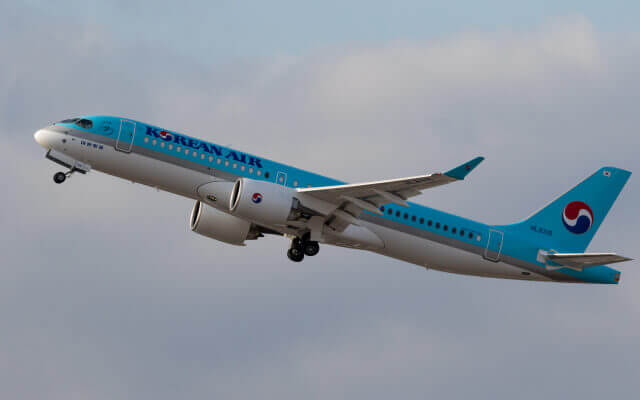 Airbus A220 300 Korean Air HL8315