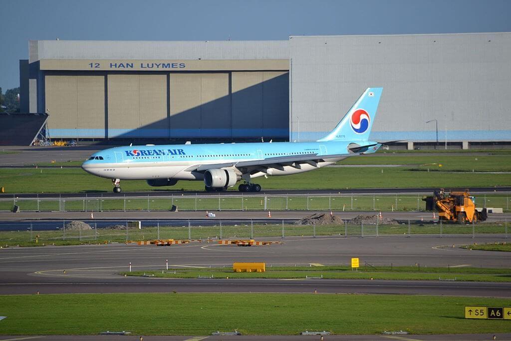 Airbus A330 223 HL8276 Korean Air at Amsterdam Airport Schiphol