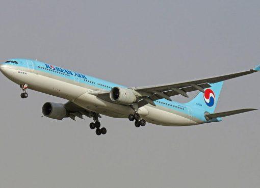 Airbus A330 323 HL7584 Korean Air at Beijing Capital International Airport