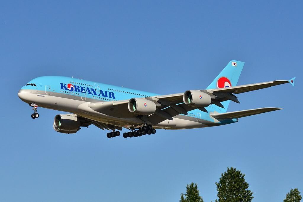 Airbus A380 861 HL7611 Korean Air at Toulouse Blagnac International Airport