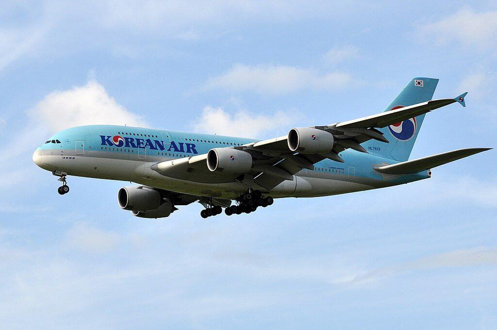 Airbus A380 861 HL7613 Korean Air at Paris Charles de Gaulle Airport