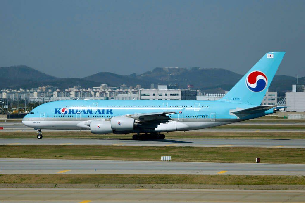 Airbus A380 861 HL7622 Korean Air at Incheon International Airport