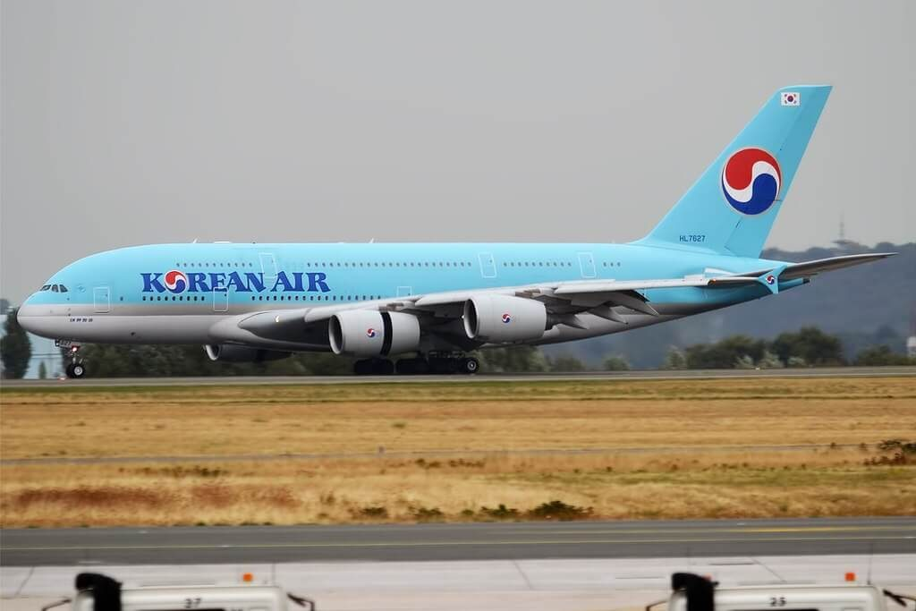 Airbus A380 861 HL7627 Korean Air at Paris Charles de Gaulle Airport