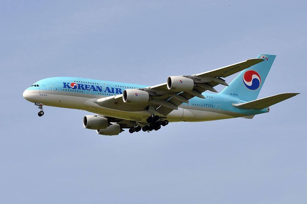Airbus A380 861 HL7628 Korean Air at Paris Charles de Gaulle Airport