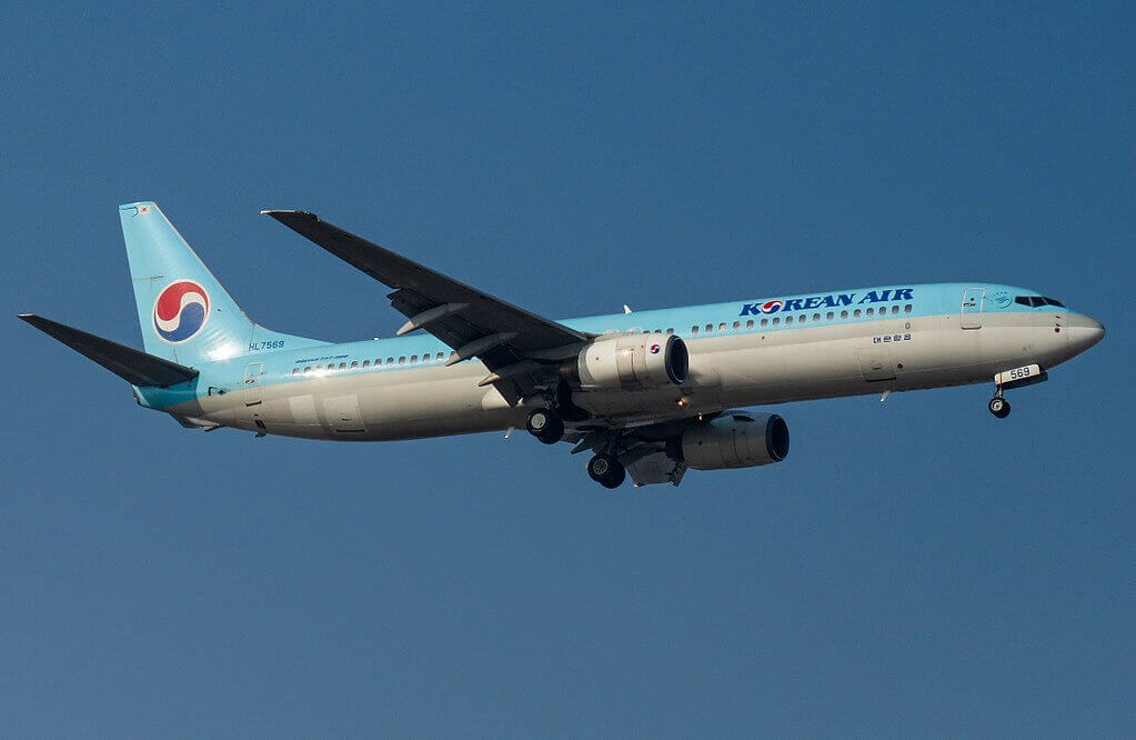 Boeing 737 9B5 HL7569 Korean Air at Beijing Capital International Airport