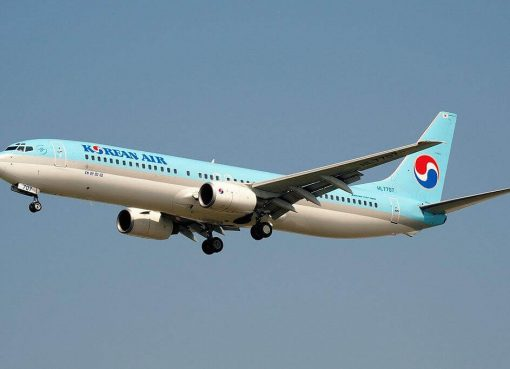 Boeing 737 9B5 HL7707 Korean Air at Shanghai Pudong International Airport