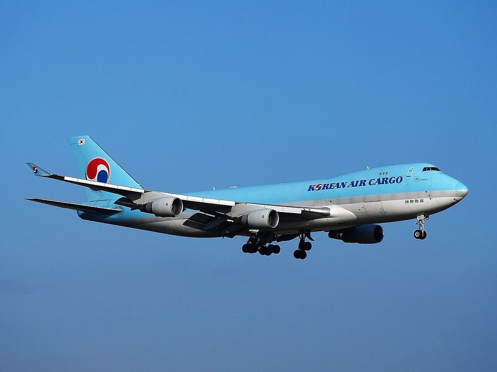 Boeing 747 4B5FER HL7601 Korean Air Cargo at Amsterdam Airport Schiphol