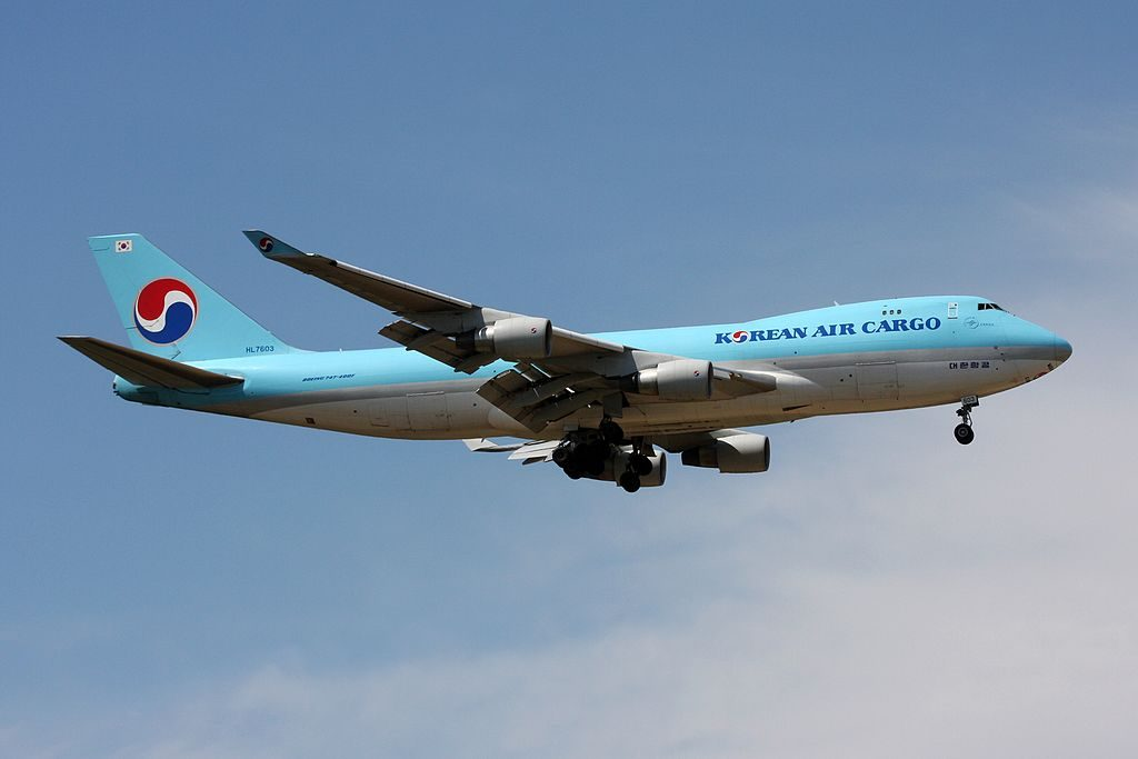 Boeing 747 4B5FER Korean Air Cargo HL7603 at Frankfurt Airport