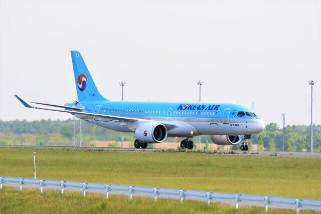 Korean Air Bombardier CSeries CS300 BD 500 1A11 HL8313