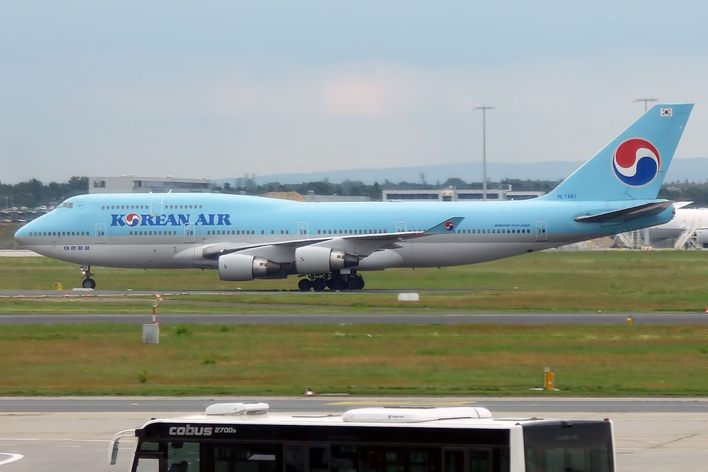Korean Air HL7461 Boeing 747 4B5