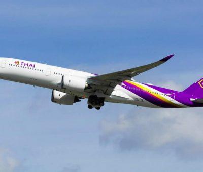 THAI Airways Airbus A350 941 HS THE Chai Badan ชัยบาดาล