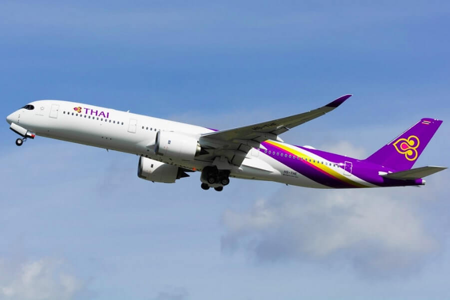 THAI Airways Airbus A350 941 HS THE Chai Badan ชัยบาดาล