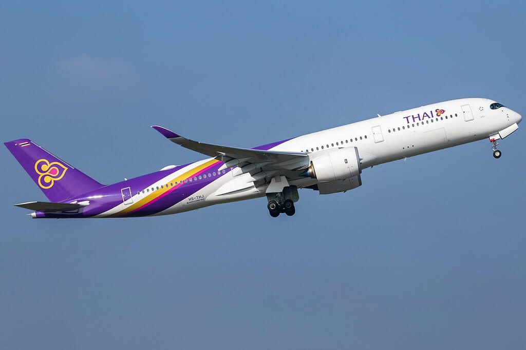 THAI Airways Airbus A350 941 HS THJ Pho Sai โพธิ์ไทร