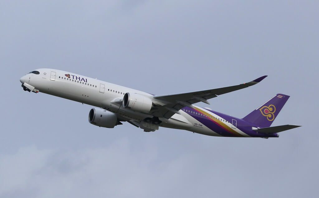 THAI Airways Airbus A350 941 HS THK Phaisali ไพศาลี