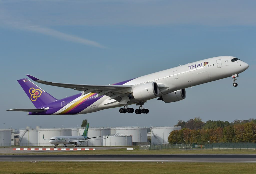 THAI Airways Airbus A350 941 HS THL Sikhoraphum ศรีขรภูมิ