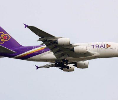 THAI Airways Airbus A380 841 HS TUA Si Rattana ศรีรัตนะ at Suvarnabhumi International Airport